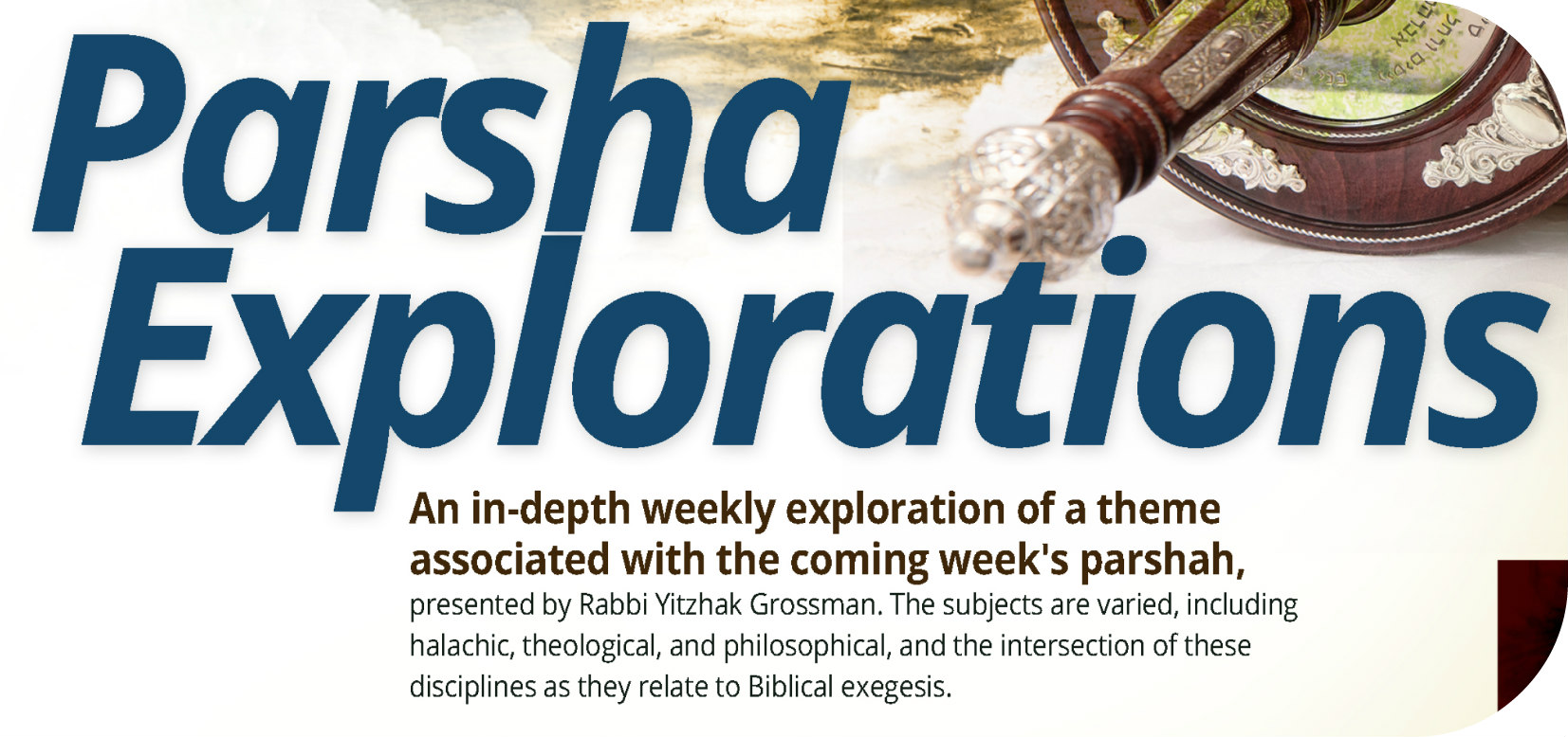 Parsha Explorations